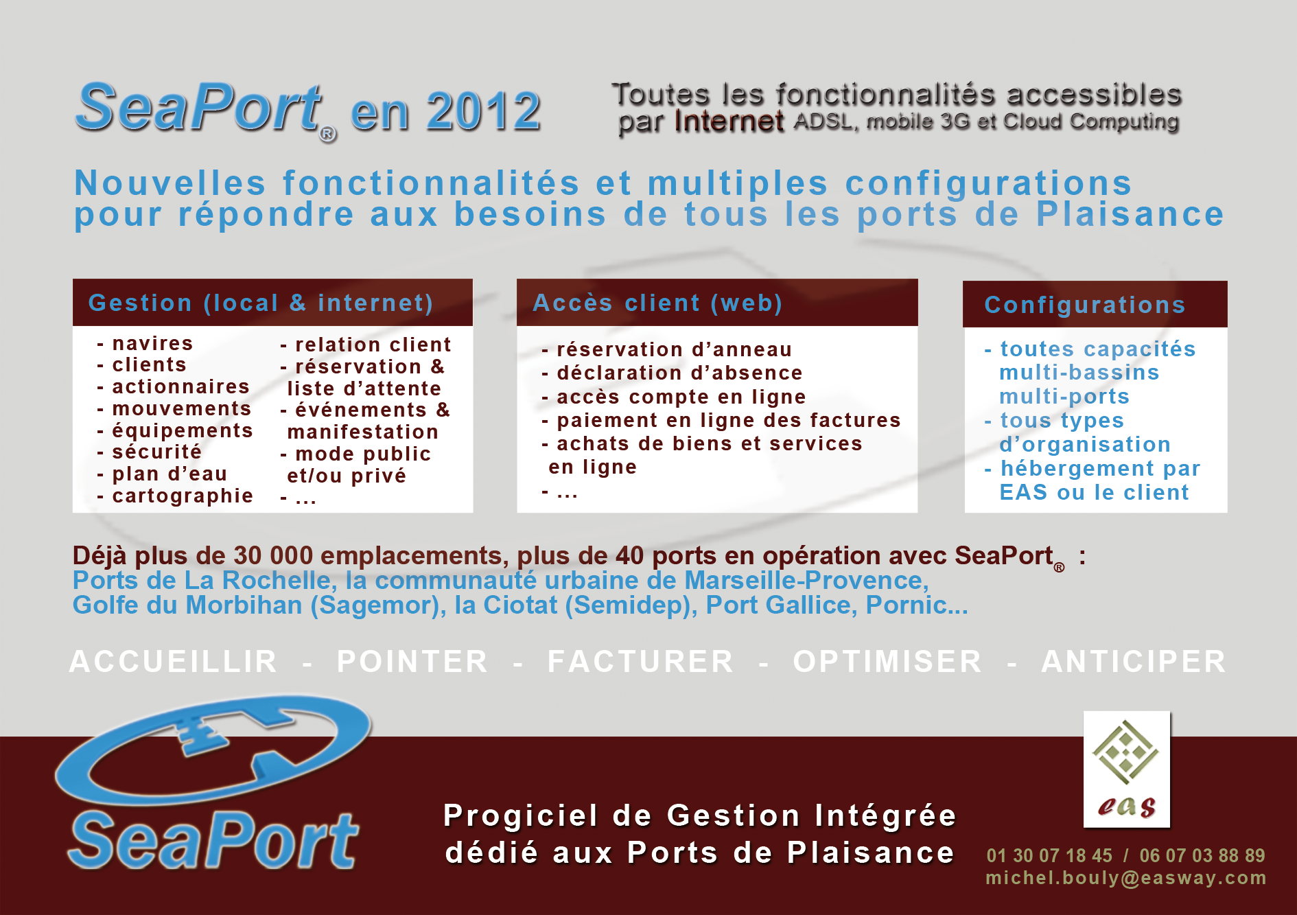 SeaPort sur Internet